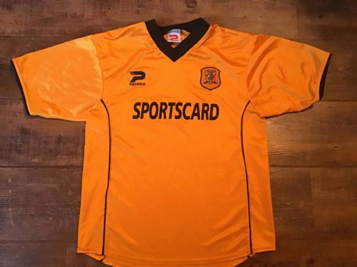 2001 2002 Hull City Home Football Shirt Small
